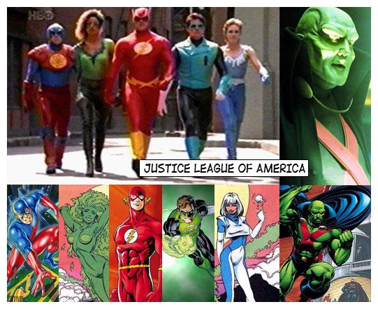 Justice League Movie 1997